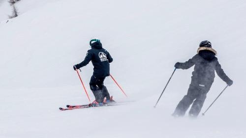 Las clases privadas de esquí son la mejor manera de mejorar rápidamente.