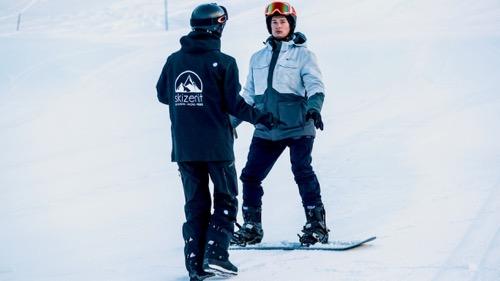 Las clases privadas de snowboard son la mejor manera de mejorar rápidamente