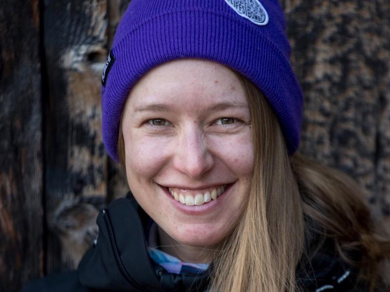 Kathrin Linner ski team ski school Saas-Fee